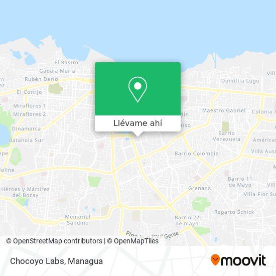 Mapa de Chocoyo Labs