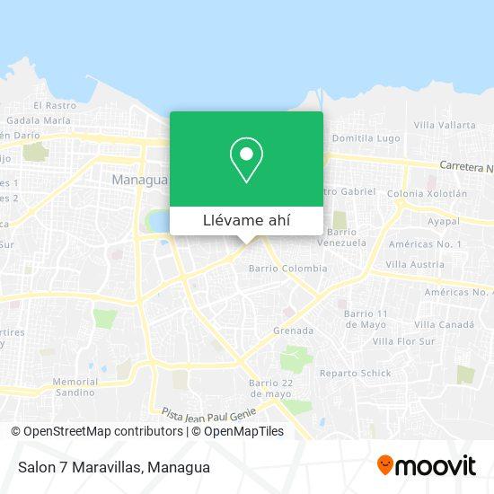Mapa de Salon 7 Maravillas