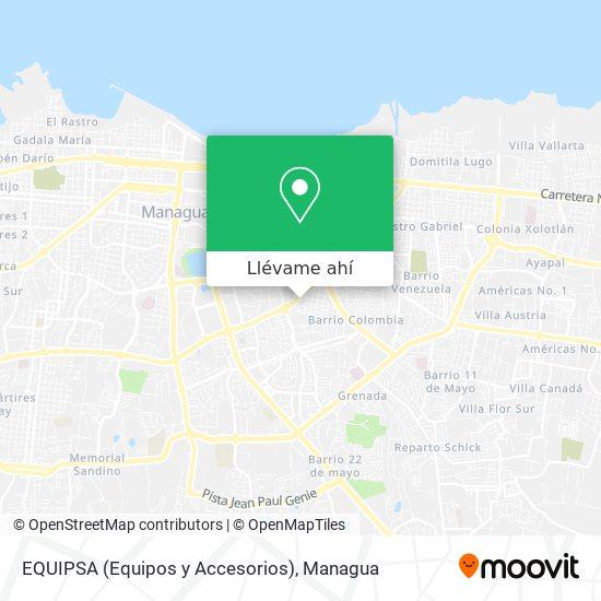 Mapa de EQUIPSA (Equipos y Accesorios)