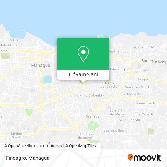 Mapa de Fincagro