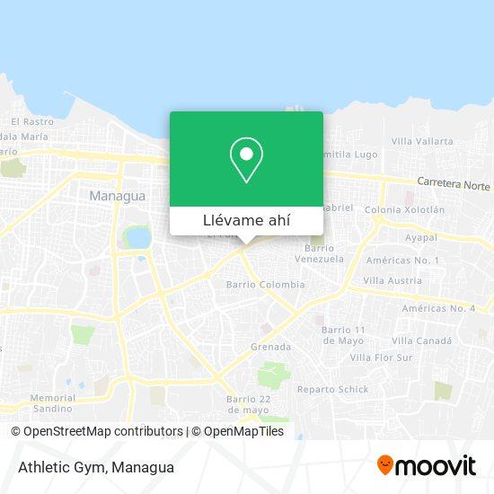 Mapa de Athletic Gym