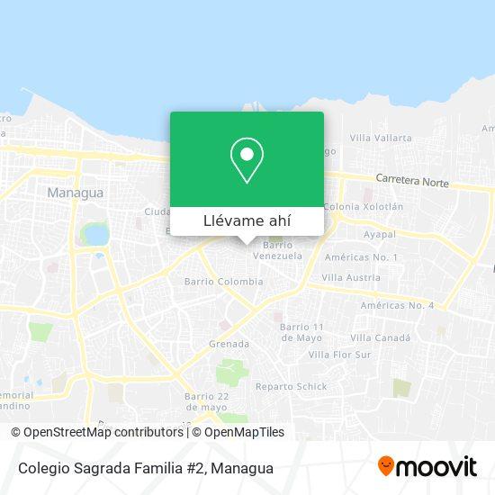 Mapa de Colegio Sagrada Familia #2