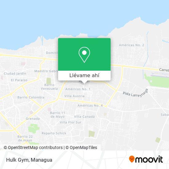 Mapa de Hulk Gym