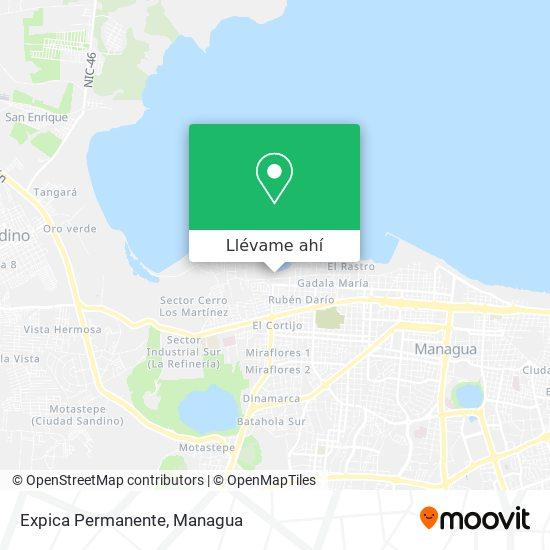 Mapa de Expica Permanente