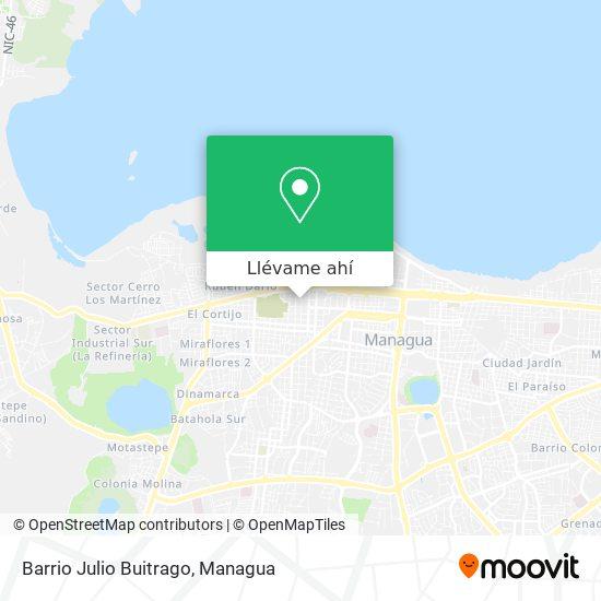 Mapa de Barrio Julio Buitrago