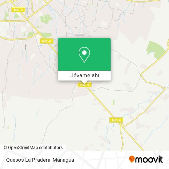 Mapa de Quesos La Pradera