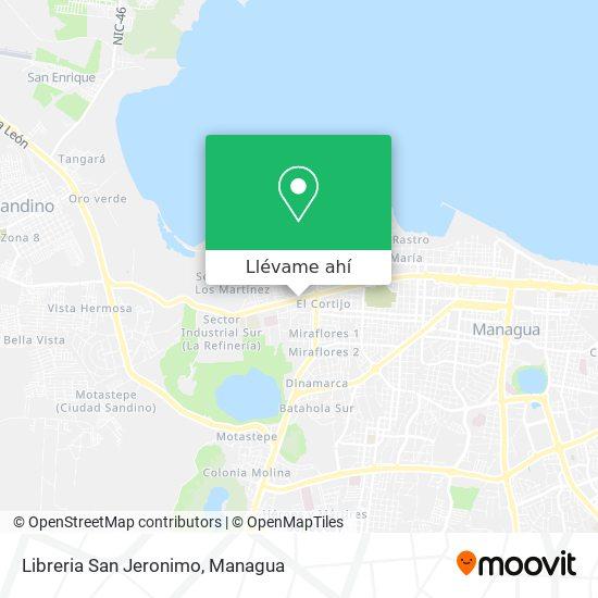 Mapa de Libreria San Jeronimo