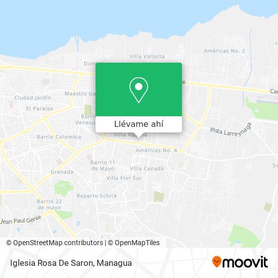 Mapa de Iglesia Rosa De Saron