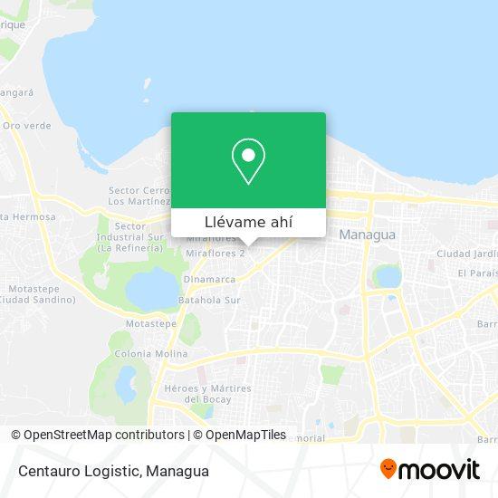 Mapa de Centauro Logistic