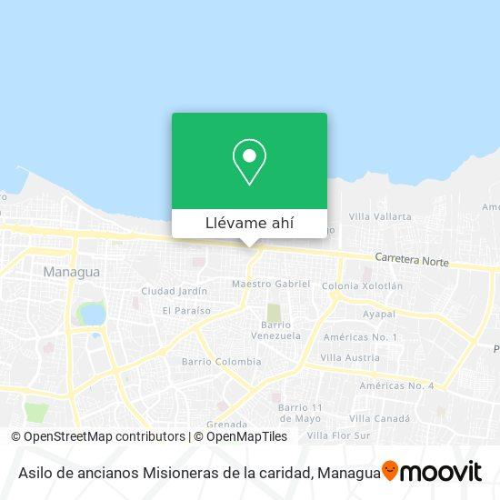 Mapa de Asilo de ancianos Misioneras de la caridad