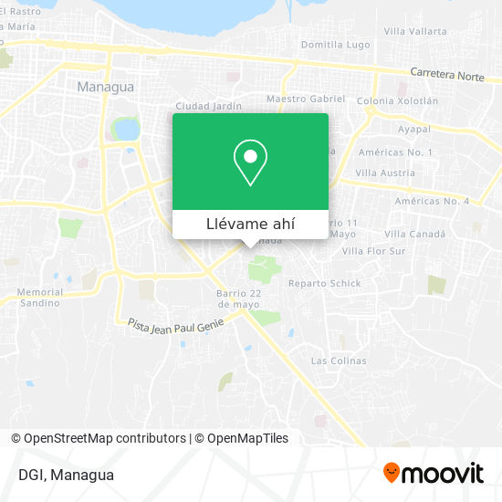 Mapa de DGI