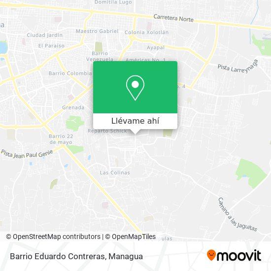 Mapa de Barrio Eduardo Contreras