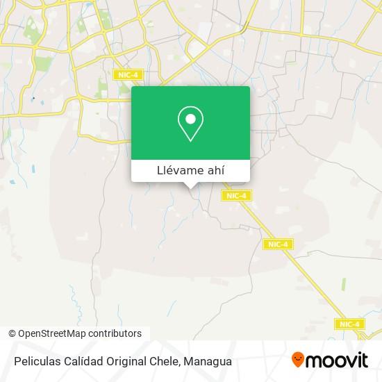 Mapa de Peliculas Calídad Original Chele