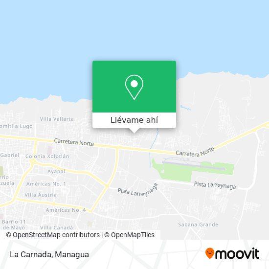 Mapa de La Carnada