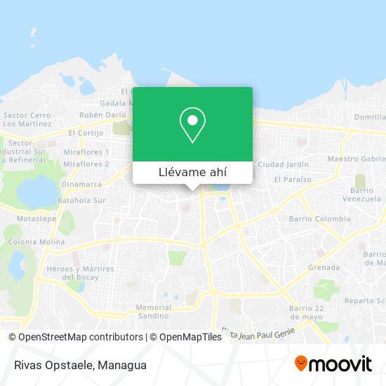 Mapa de Rivas Opstaele