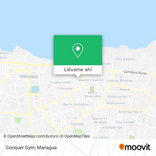 Mapa de Conquer Gym