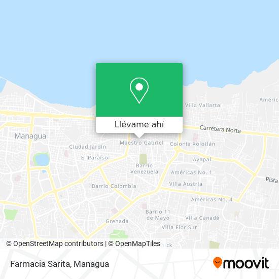 Mapa de Farmacia Sarita