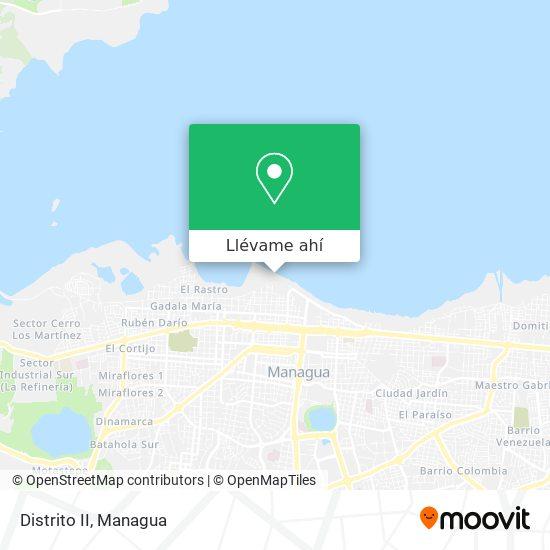 Mapa de Distrito II