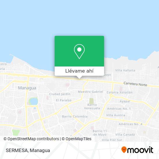 Mapa de SERMESA