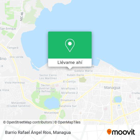 Mapa de Barrio Rafael Ángel Ríos