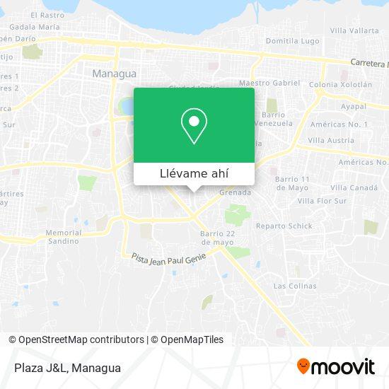 Mapa de Plaza J&L