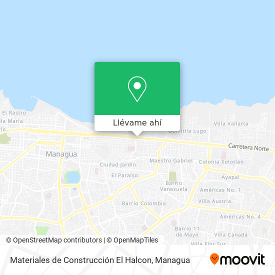 Mapa de Materiales de Construcción El Halcon