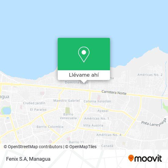 Mapa de Fenix S.A