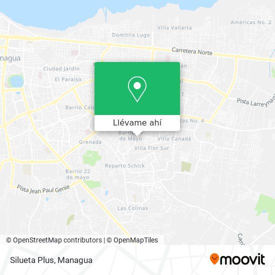 Mapa de Silueta Plus