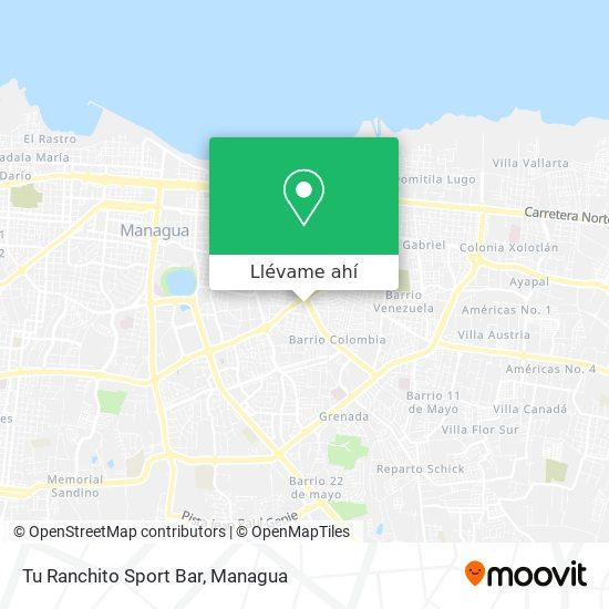 Mapa de Tu Ranchito Sport Bar