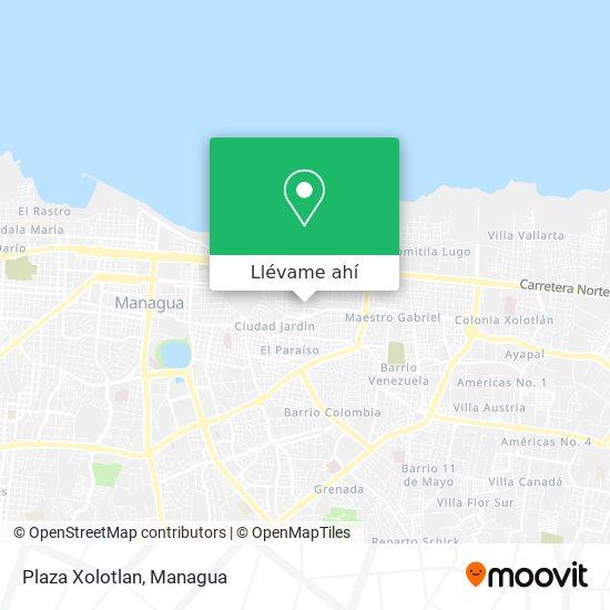 Mapa de Plaza Xolotlan