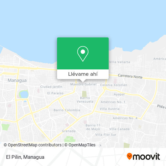 Mapa de El Pilin