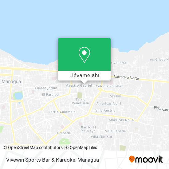Mapa de Vivewin Sports Bar & Karaoke