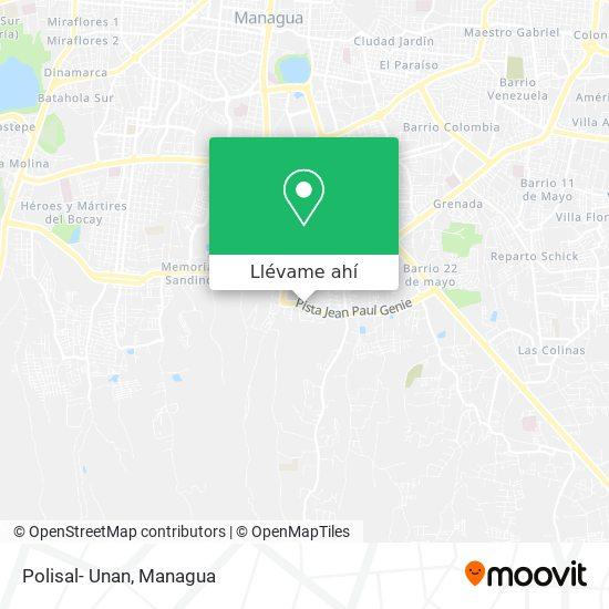 Mapa de Polisal- Unan