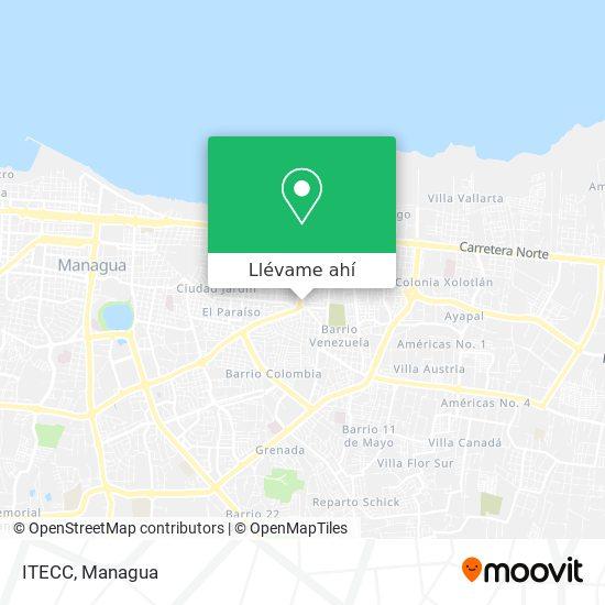 Mapa de ITECC