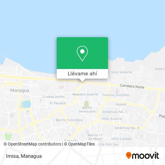 Mapa de Imisa