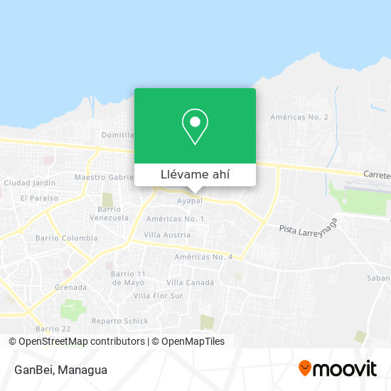 Mapa de GanBei