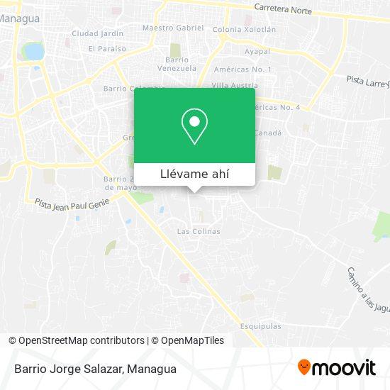 Mapa de Barrio Jorge Salazar