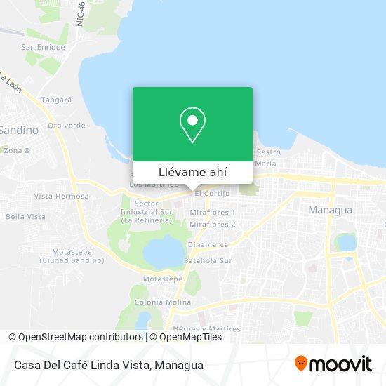 Mapa de Casa Del Café Linda Vista
