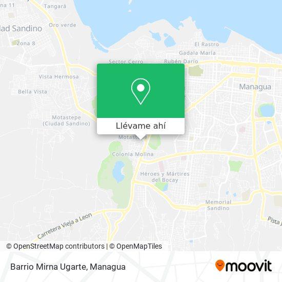 Mapa de Barrio Mirna Ugarte