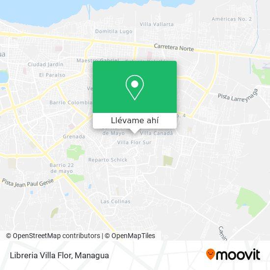 Mapa de Libreria Villa Flor
