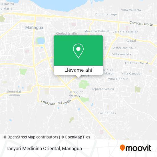 Mapa de Tanyari Medicina Oriental