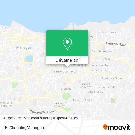 Mapa de El Chacalin