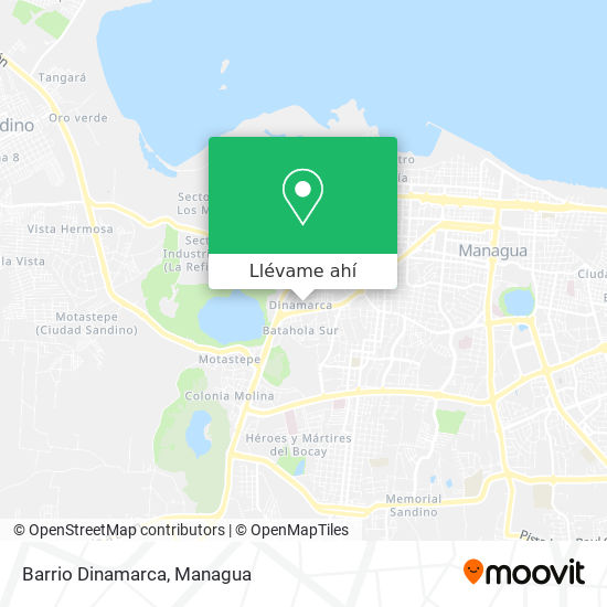 Mapa de Barrio Dinamarca