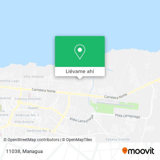 Mapa de 11038