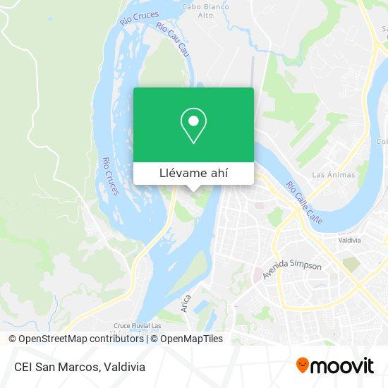 Cómo llegar a CEI San Marcos en Valdivia en Autobús | Moovit