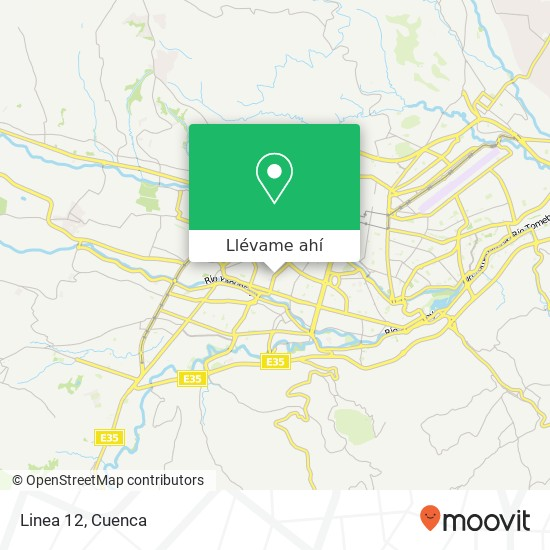 Mapa de Linea 12