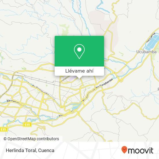 Mapa de Herlinda Toral