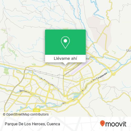Mapa de Parque De Los Heroes