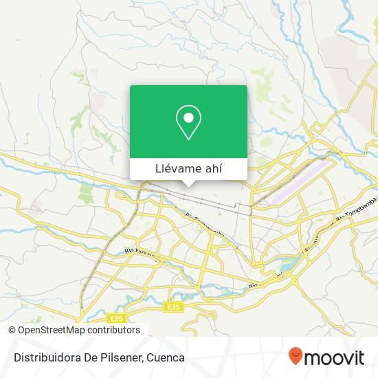 Mapa de Distribuidora De Pilsener