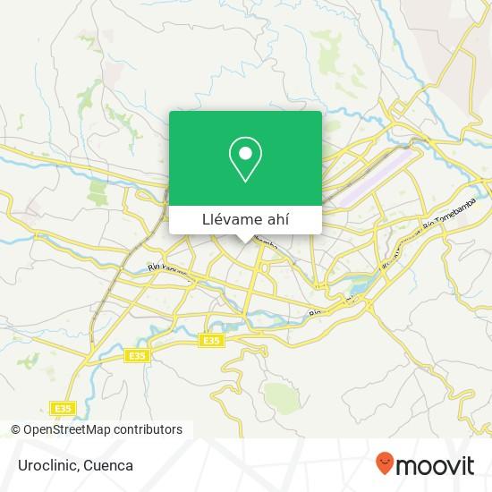 Mapa de Uroclinic